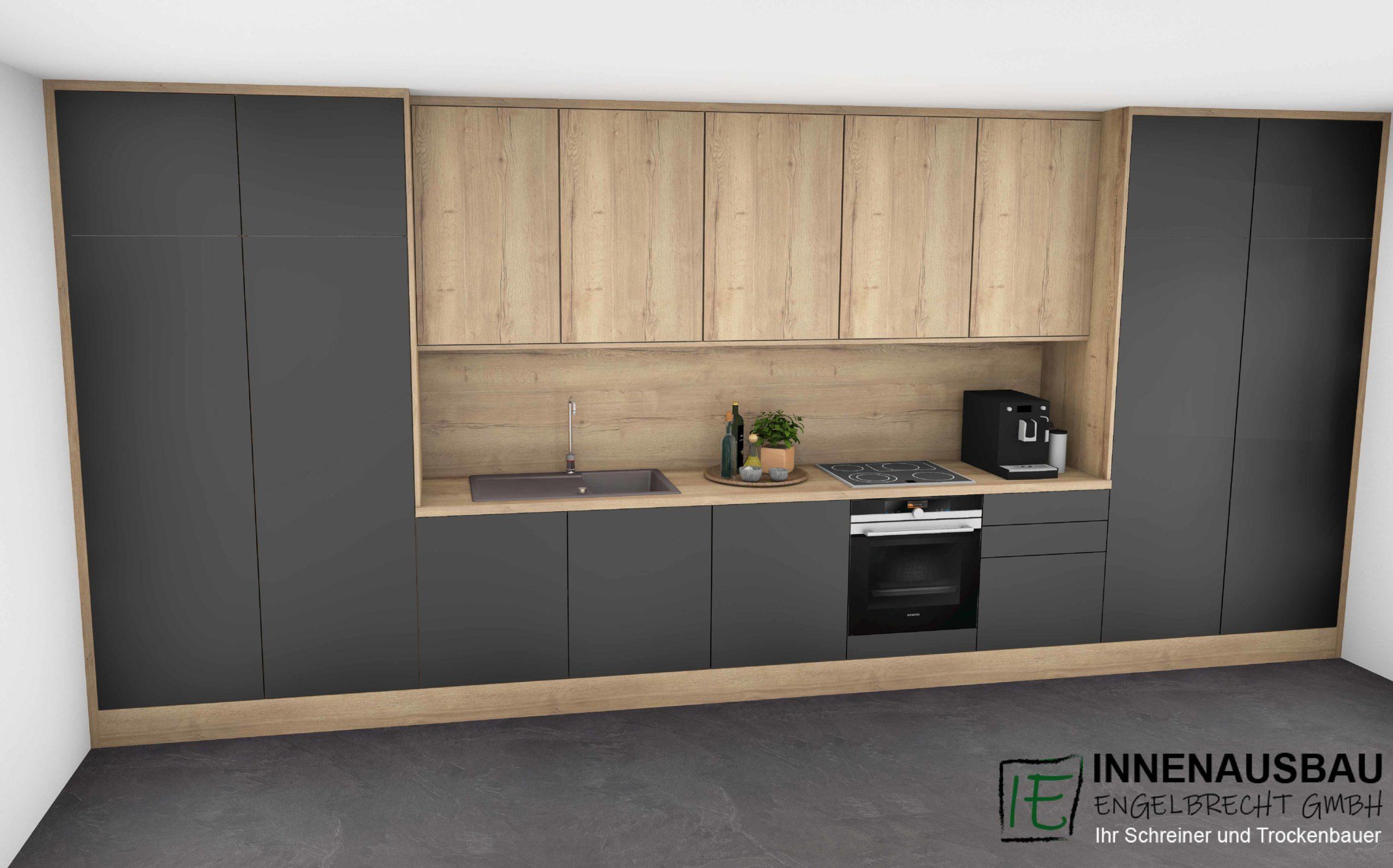 Küche-schwarz