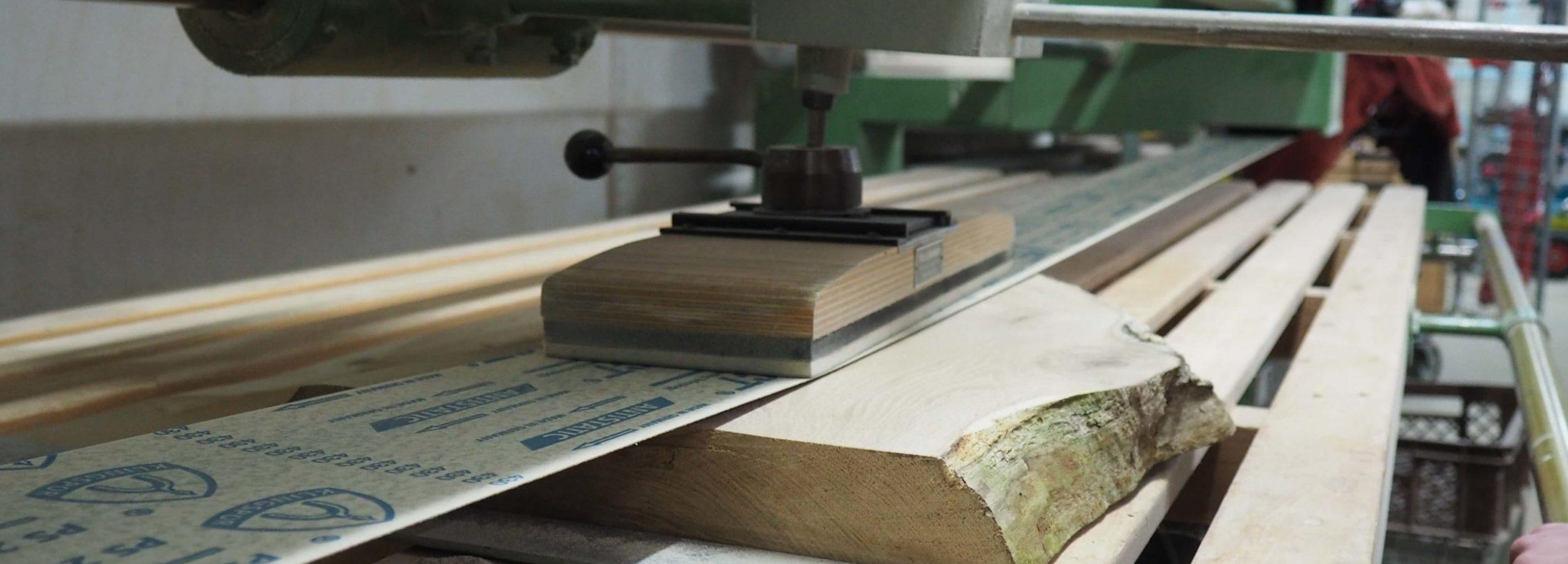 Schleifmaschine-Detail